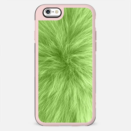 Green fur texture