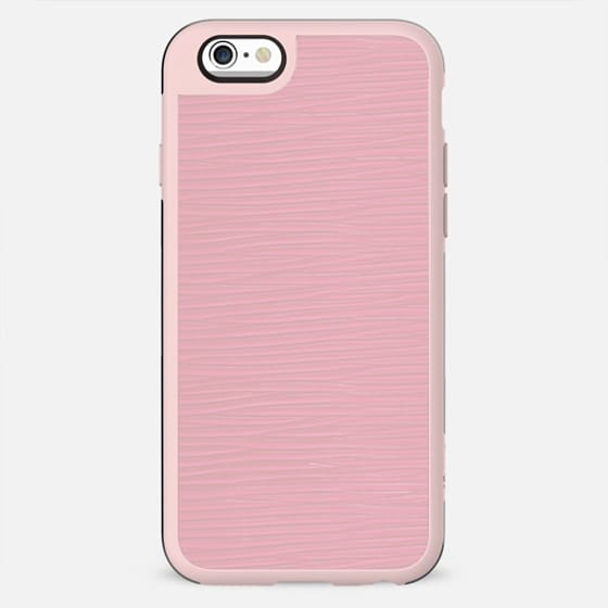 Pink textured leather effect