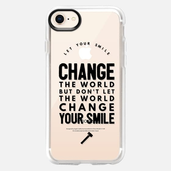 Change the world - Snap Case