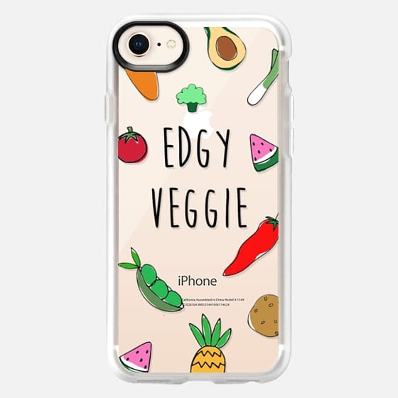 Edgy Veggie - Vegan, Vegetarian Case - Snap Case