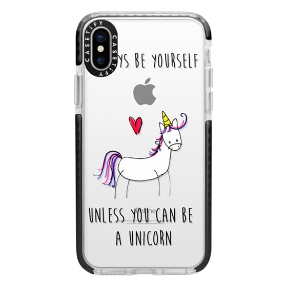iPhone X Cases - Always be a Unicorn