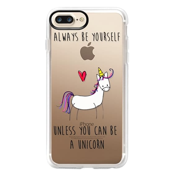 iPhone 7 Plus Cases - Always be a Unicorn