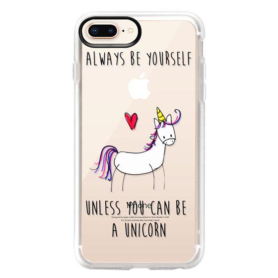 iPhone 8 Plus Cases - Always be a Unicorn