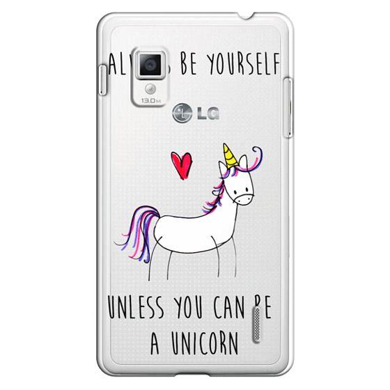 Optimus G Cases - Always be a Unicorn