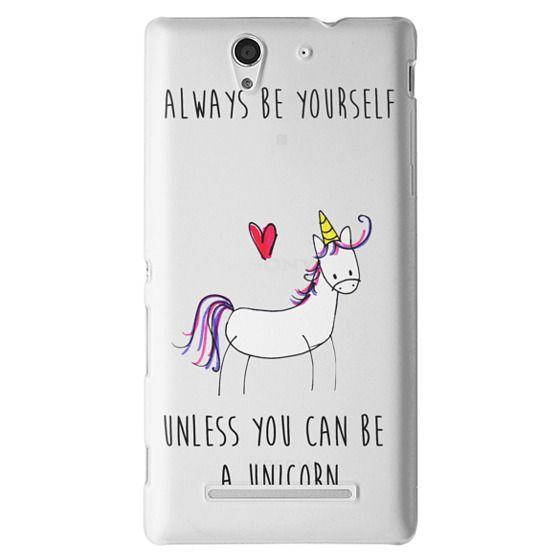 Sony C3 Cases - Always be a Unicorn