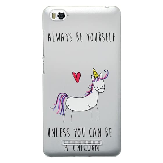 Xiaomi 4i Cases - Always be a Unicorn