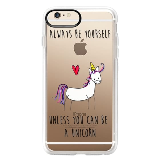 iPhone 6 Plus Cases - Always be a Unicorn