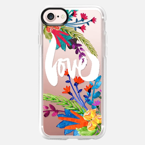 love flowers - Classic Grip Case