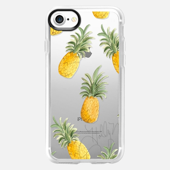 Pineapple Party (Transparent) - Wallet Case