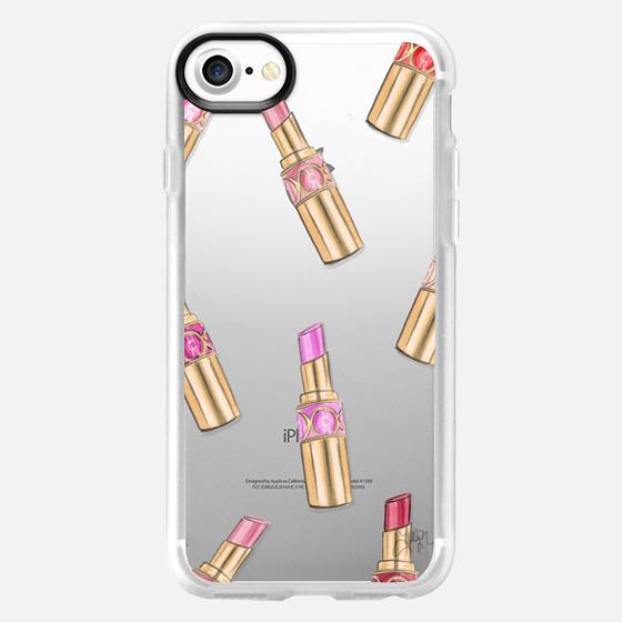 Lipstick Shuffle (Transparent) - Wallet Case