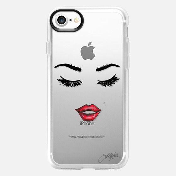 Five More Minutes (Eyelashes Transparent Phone Case) -