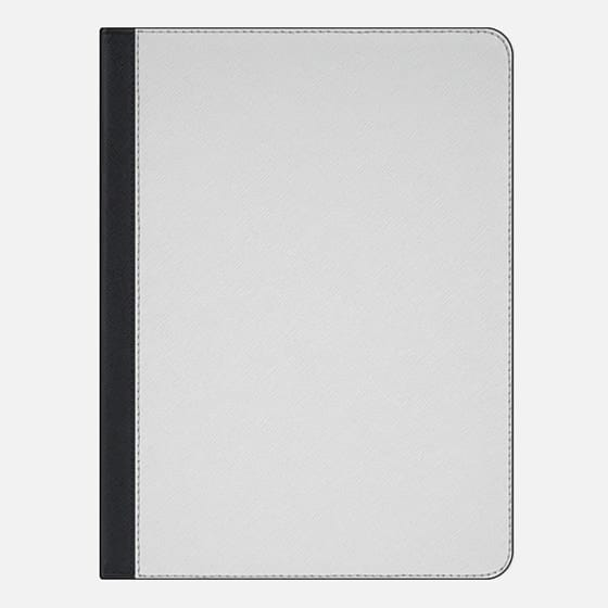 iPad Pro 9.7-inch Case - The Fine Art of Staying In (Transparent iPad Case)