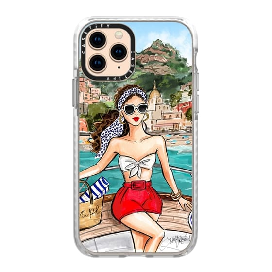iPhone 11 Pro Cases - Holly Nichols Collection, Amalfi Coast Vacation, Dalmatian Print