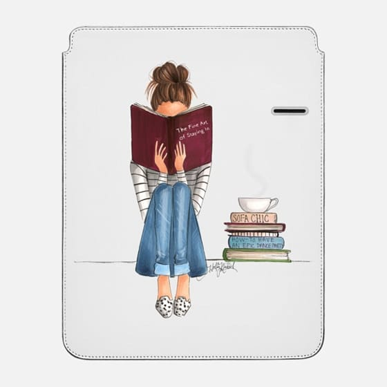 The Fine Art Of Staying In (iPad Case) - iPad Pro Sleeve