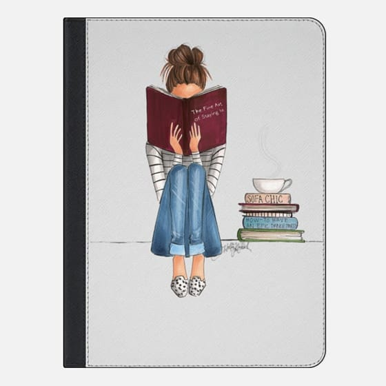 iPad Pro 9.7-inch Case - The Fine Art Of Staying In (iPad Case)