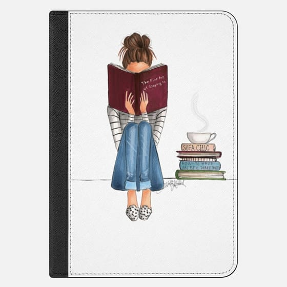 The Fine Art Of Staying In (iPad Case)