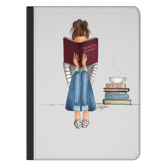 12.9-inch iPad Pro Covers - The Fine Art Of Staying In (iPad Case)