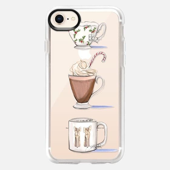 Warm My Heart (Holiday Transparent Phone Case) - Snap Case