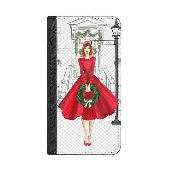 Holly Lane Holiday Christmas Fashion Illustration Case Casetify