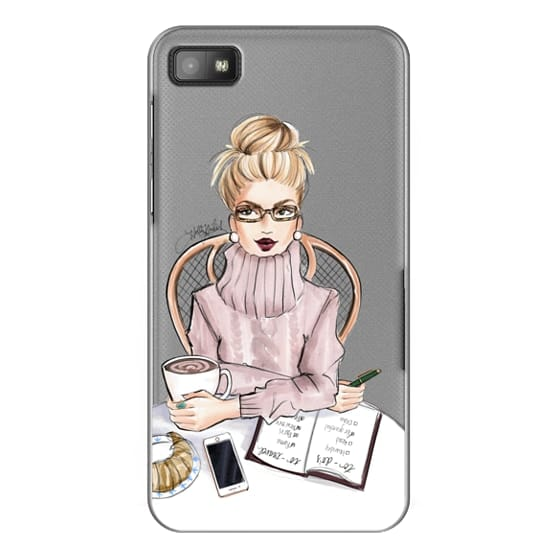 Blackberry Z10 Cases - LOVE YOU A LATTE (BLONDE)