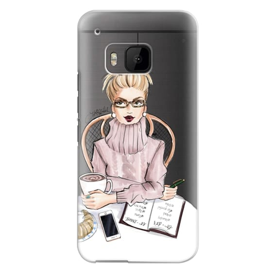 Htc One M9 Cases - LOVE YOU A LATTE (BLONDE)