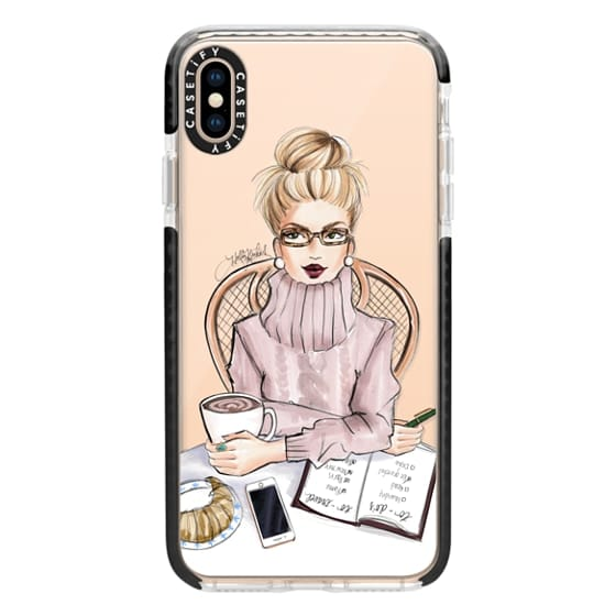 iPhone XS Max Cases - LOVE YOU A LATTE (BLONDE)