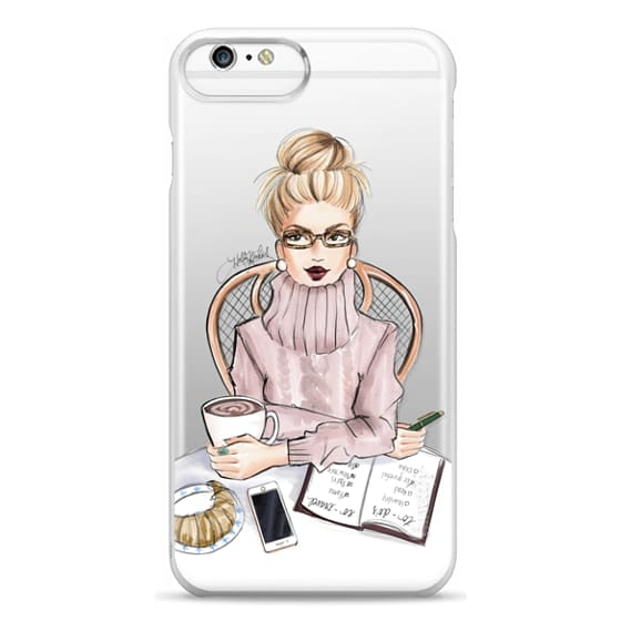 iPhone 6 Plus Cases - LOVE YOU A LATTE (BLONDE)