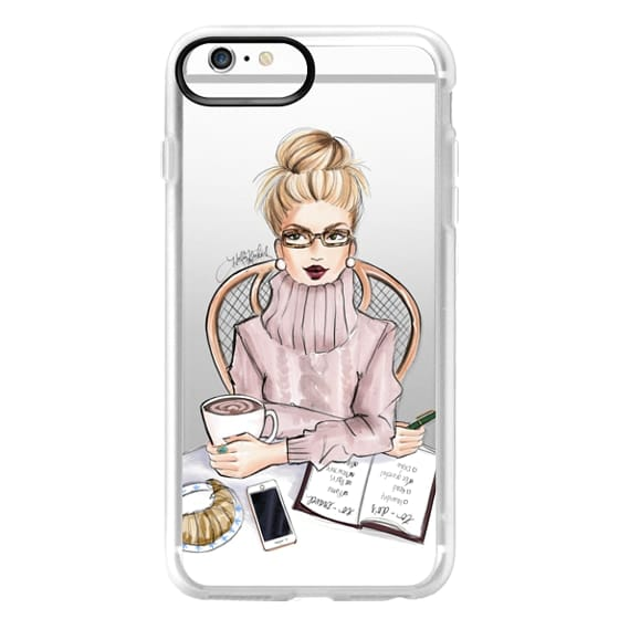 iPhone 6s Plus Cases - LOVE YOU A LATTE (BLONDE)