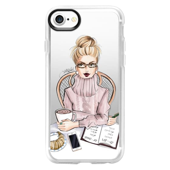 iPhone 7 Cases - LOVE YOU A LATTE (BLONDE)