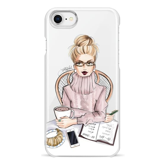 iPhone 8 Cases - LOVE YOU A LATTE (BLONDE)