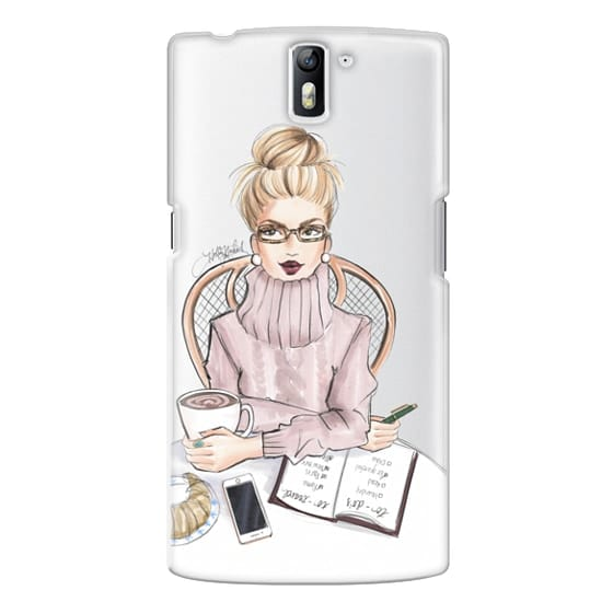 One Plus One Cases - LOVE YOU A LATTE (BLONDE)