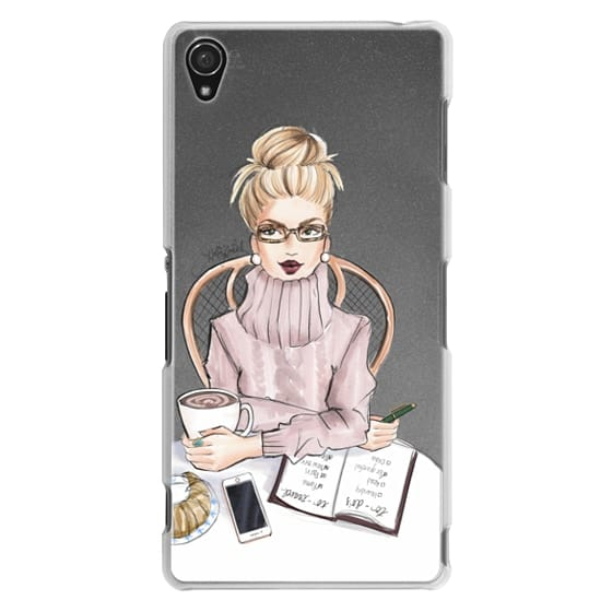 Sony Z3 Cases - LOVE YOU A LATTE (BLONDE)