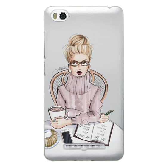 Xiaomi 4i Cases - LOVE YOU A LATTE (BLONDE)