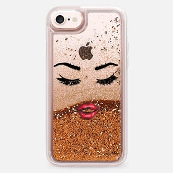 iPhone 7 Case Five More Minutes (Eyelashes Transparent Phone Case)
