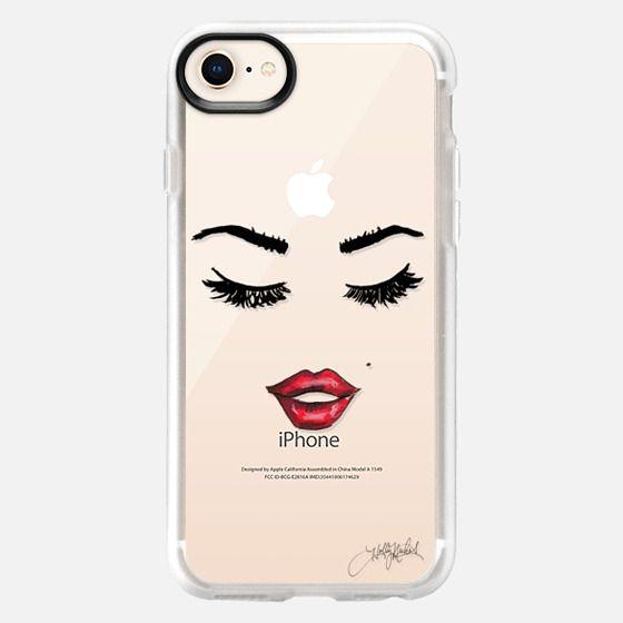 Five More Minutes (Eyelashes Transparent Phone Case) - Snap Case