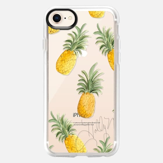 Pineapple Party (Transparent) - Snap Case