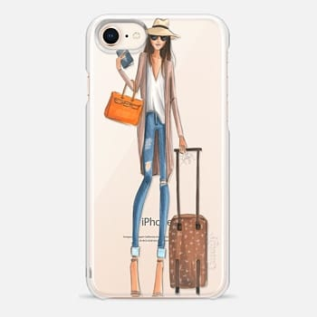 iPhone 8 Case Passport to Fabulous (Transparent)