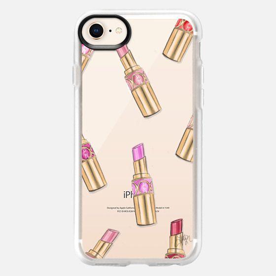 Lipstick Shuffle (Transparent) - Snap Case