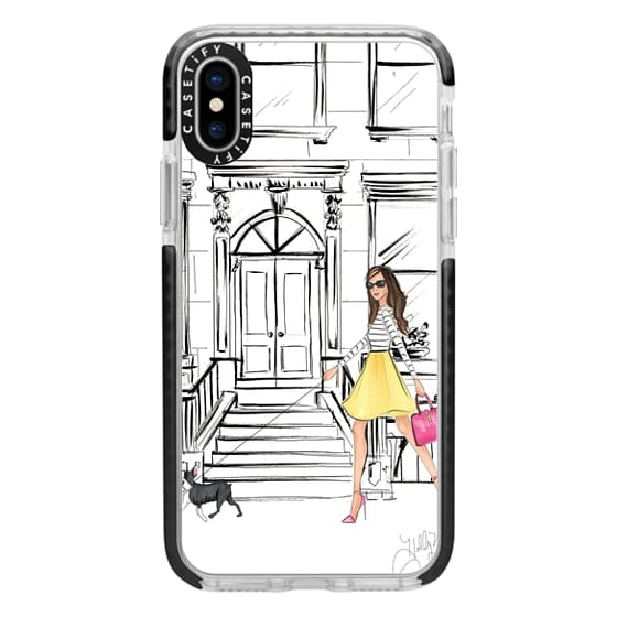 iPhone X Cases - Boston Brownstone
