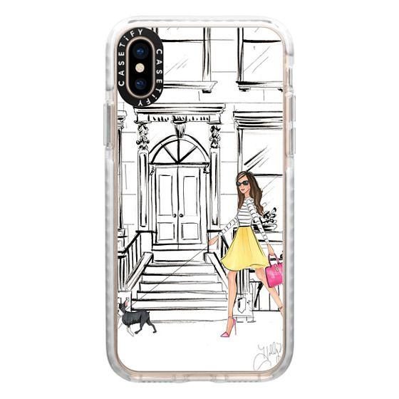 iPhone XS Cases - Boston Brownstone