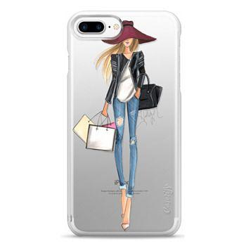 Snap iPhone 7 Plus Case - OOTD (Transparent)
