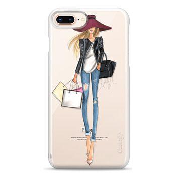 Snap iPhone 8 Plus Case - OOTD (Transparent)