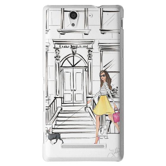 Sony C3 Cases - Boston Brownstone