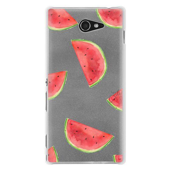 Sony M2 Cases - Watermelon Shuffle