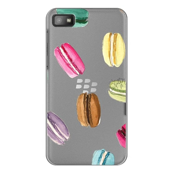 Blackberry Z10 Cases - Macaron Shuffle (Transparent)
