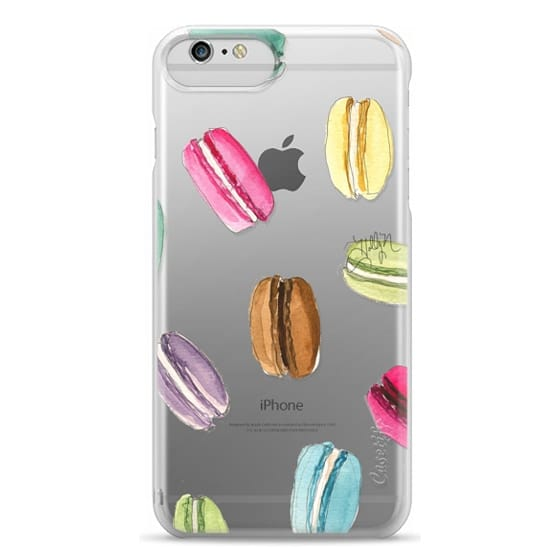 iPhone 6 Plus Cases - Macaron Shuffle (Transparent)