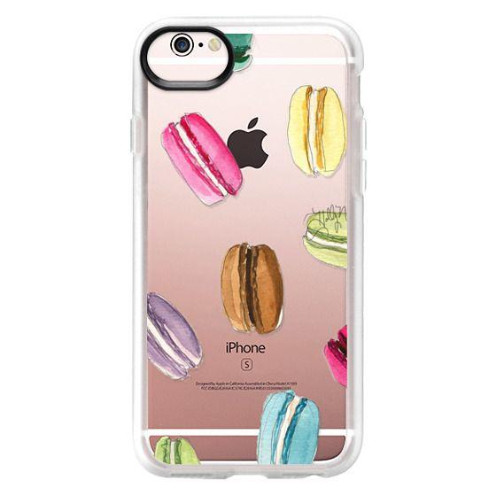 iPhone 6s Cases - Macaron Shuffle (Transparent)