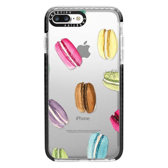 iPhone 7 Plus Cases - Macaron Shuffle (Transparent)