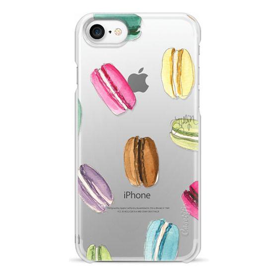 iPhone 7 Cases - Macaron Shuffle (Transparent)