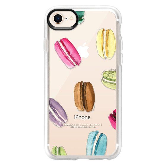 iPhone 8 Cases - Macaron Shuffle (Transparent)